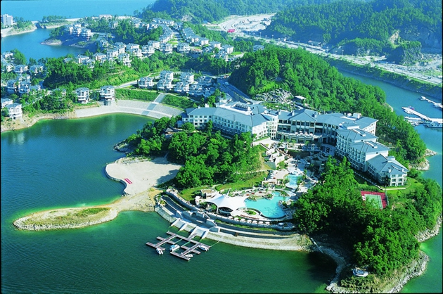 杭州千岛湖开元度假村 new century resort qiandao lake